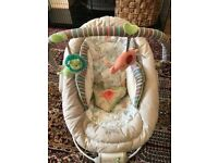 Baby bouncer chair. Bright starts.