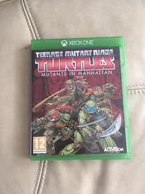 TMNT teenage mutant ninja turtles Xbox one