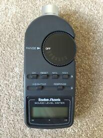RadioShack Digital Sound Level Meter, Model 33-2055