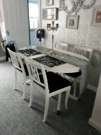 Dining room.table and chairs