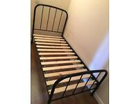 Single bed frame - metal