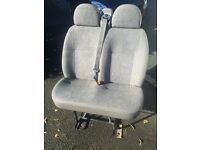 ford transit twin front seat