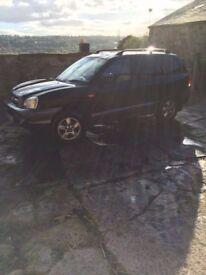 Hyundai Santa FE 4X4 jeep not/bmw/mercedes/vauxhall/audi/ford/vw/scoda/citroen