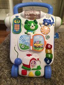 Leap Frog Baby Walker Push Along Toy (like Vtech)