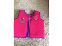 SPEEDO swim vest aged 2/4