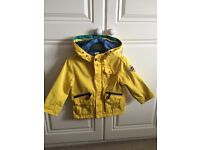 Ted Baker boys rain jacket