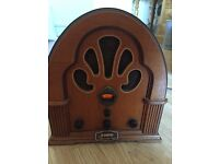 Steepletone 1989 Reproduction of a 1929 wooden cased radio