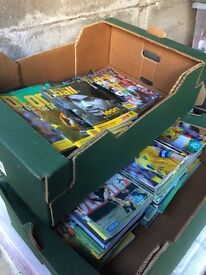 2 boxes with approx 120 N.C.F.C programmes from the 1990s -early 2000s
