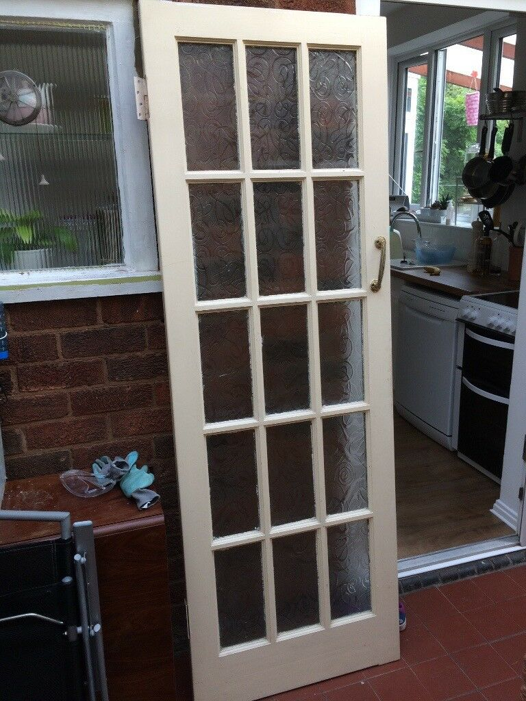 competitive price 7a04c 0b86b Internal 1930's Glazed door with handles and hinges | in Leicester,  Leicestershire | Gumtree