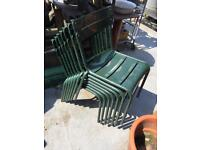 Outdoor Chairs - Stacking
