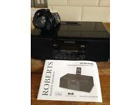 Roberts radio/cd/dock-free to repair