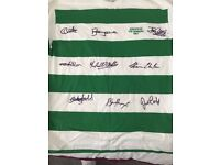 LISBON LIONS 1967 shirt signed by 9 players