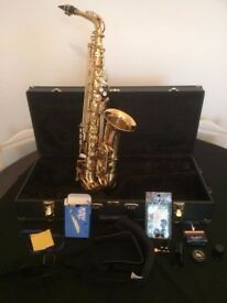 Elkart Series II Alto Saxophone – Perfect for Students! and a Christmas Present