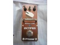 Tomsline Octpus polyphonic Octave pedal effect guitar octaver bass guitar mini