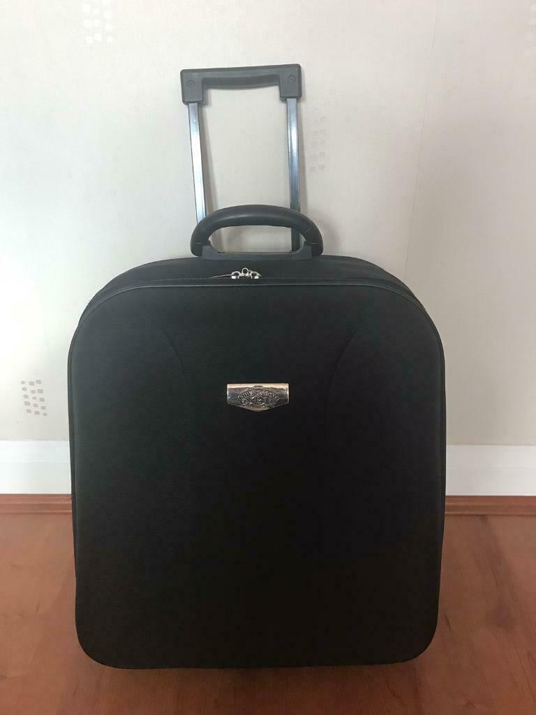 37bb23418 Black soft case small suitcase | in Harrow, London | Gumtree