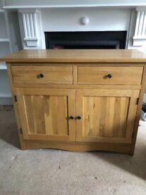 **SOLD** Solid Oak Sideboard - Excellent Condition