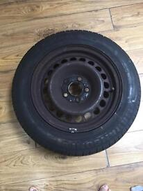 195/65/15 Wheel and Maragoni Tyre, Nearly New