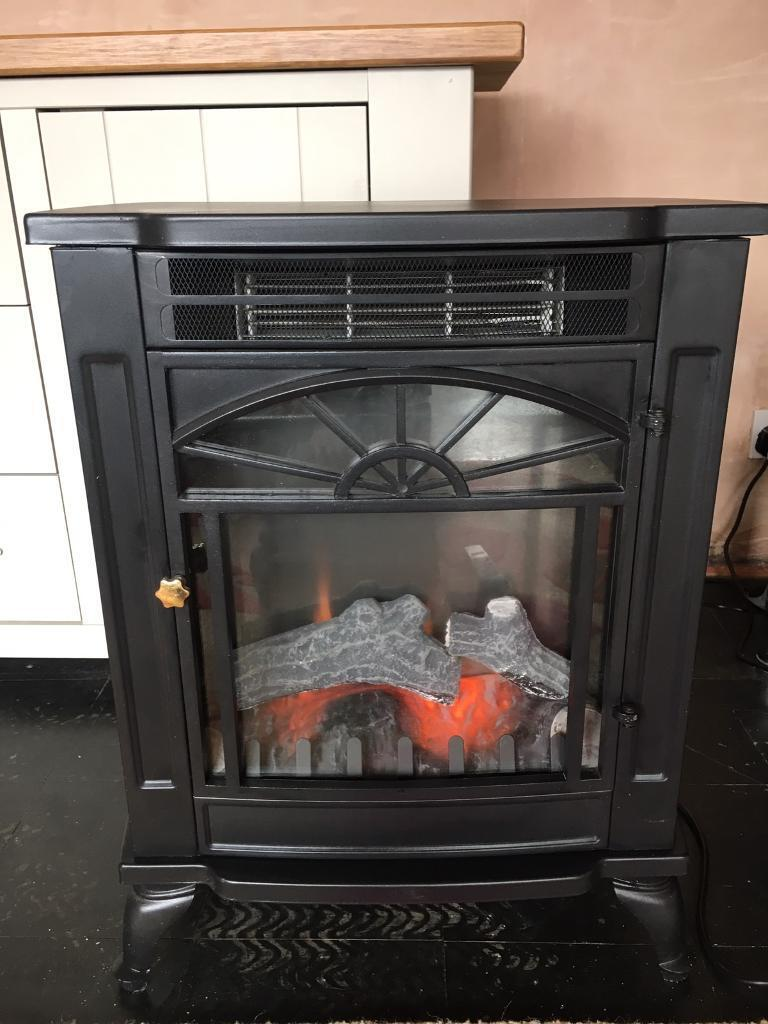 Cast iron electric stove with remote