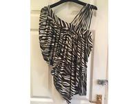 Womens zebra print top