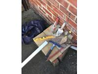 Bricklayers tools