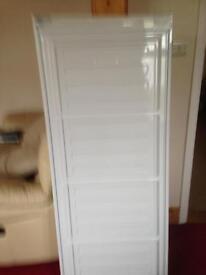 Upright freezer door
