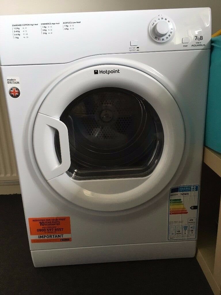 Hotpoint Aquarius Tumble dryer in excellent condition