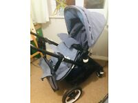 Bugaboo fox pram and matching changing bag