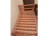 Queen sized bed for sale