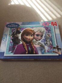 Disney frozen children's puzzle