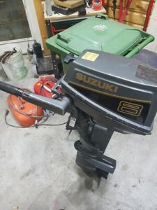8hp short shaft Suzuki outboard