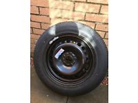 Brand new ford c max steel wheel with tyre
