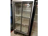 Commercial glass door chiller fully working with guaranty good condition