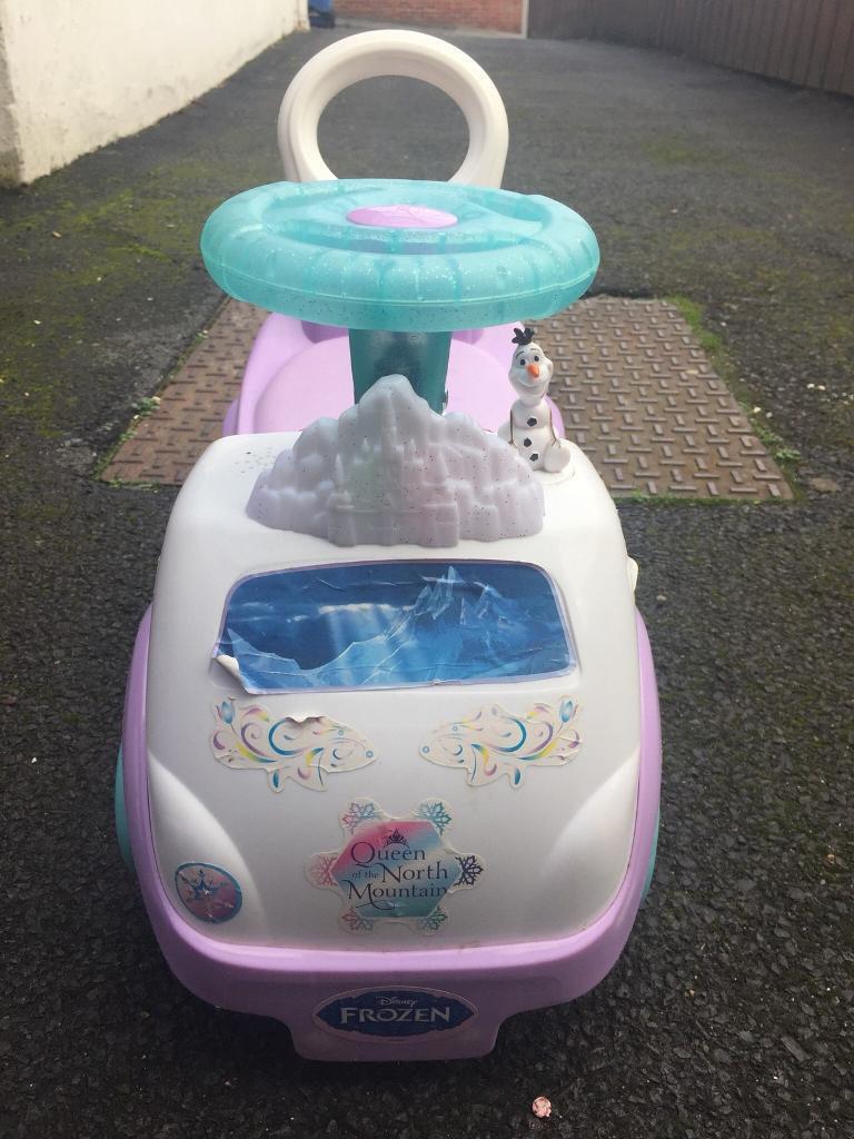 Frozen ride on