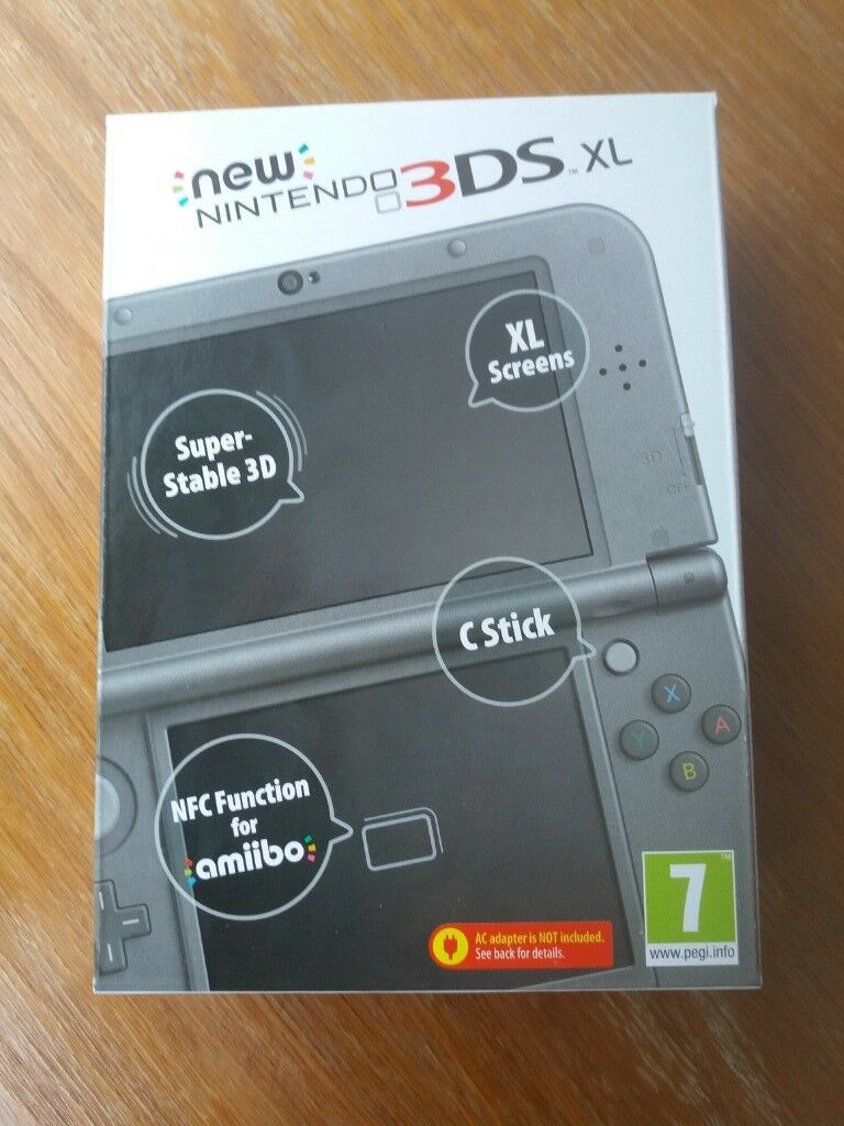 brand new New nintendo 3 ds.xl