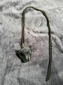 Animal design necklace