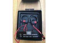 DR DRE POWERBEATS 2 WIRELESS BLUETOOTH EAR-HOOK HEADPHONES