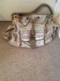 Aztec Slouch Handbag - New Look