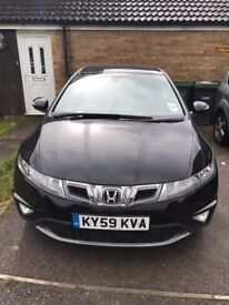 *** Honda Civic - low millage - perfect condition - service history - urgent sale ****
