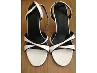 NEW KIT lady's open toe strappy heels size 7