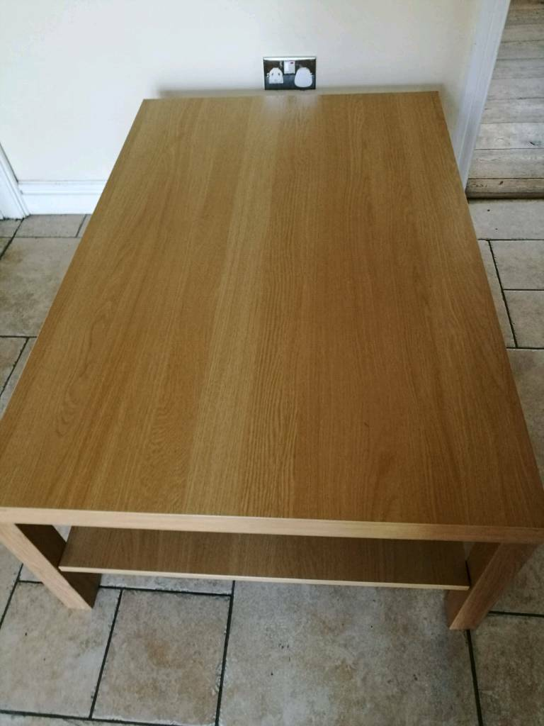 Ikea Lack Coffee Table Beech 118x78 Cm