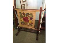 Beautiful mahogany large Tapestry, needlework frame