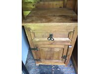 Chest of drawers abs matching bedside cupboard
