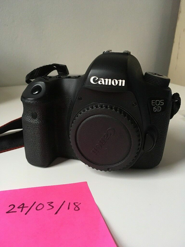 Canon EOS 6D Full Frame DSLR (body only) - Excellent Condition | in ...