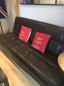 Fantastic Sofa Bed Leather Bargain!
