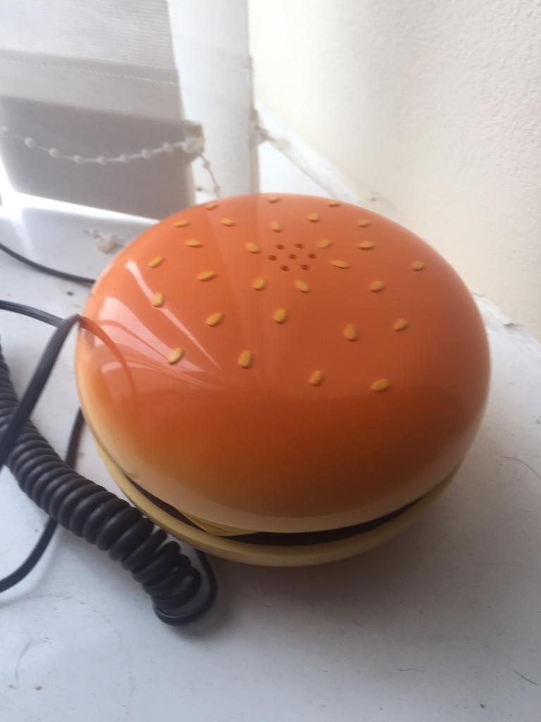 Burger phone!