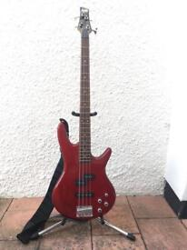 Ibanez 4-string active bass guitar