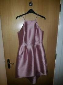 Pink dress size 10 Miss Selfridge