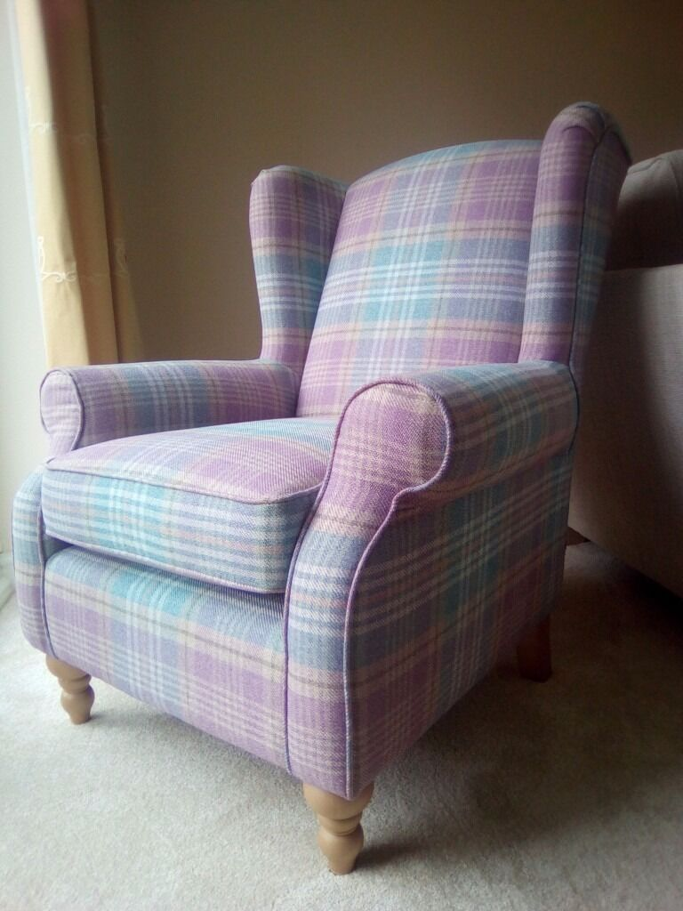 Next Sherlock Vc Stirling Teal Chair Brand New In
