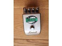 guitar effects pedal - marshall regenerator