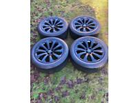 "20"" Genuine Range Rover Velar Evoque Discovery Sport Alloy Wheels Tyres"